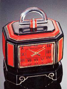 Cartier clock with a Quartz handle on top